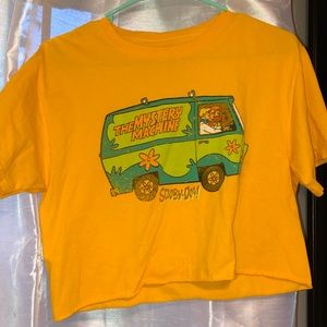 Cropped SCOOBY-DOO shirt